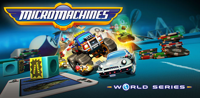 Micro Machines World Series v135923.5 – торрент