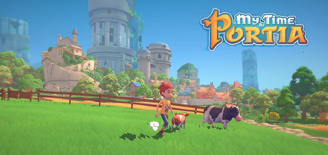 My Time At Portia v2.1 - игра на стадии разработки