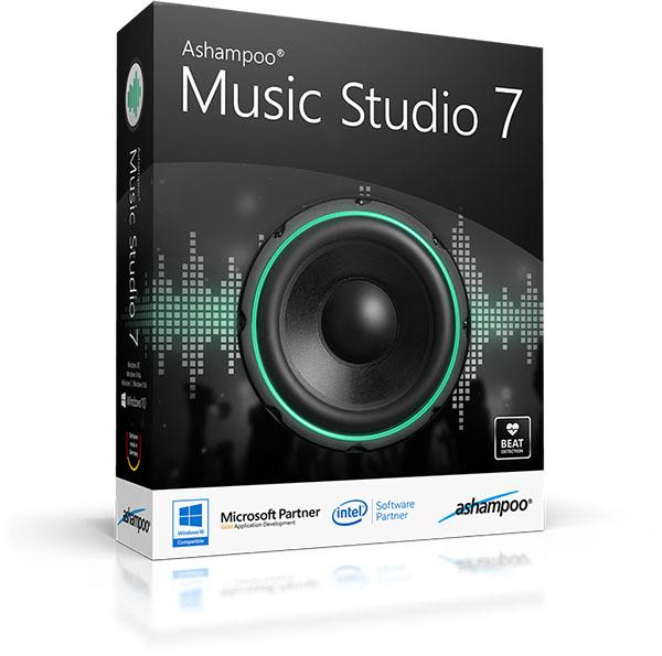 Ashampoo Music Studio – аудиоредактор
