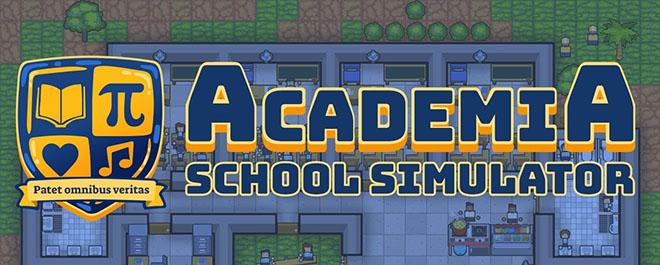 Academia : School Simulator v0.3.8 - игра на стадии разработки
