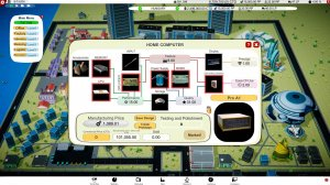 Computer Tycoon v0.9.3.07 - игра на стадии разработки