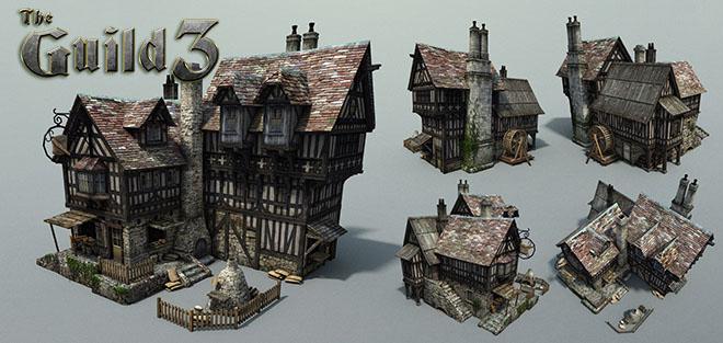 The Guild 3 v0.7.4 - игра на стадии разработки