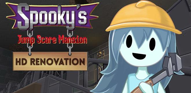 Spooky's Jump Scare Mansion: HD Renovation - торрент