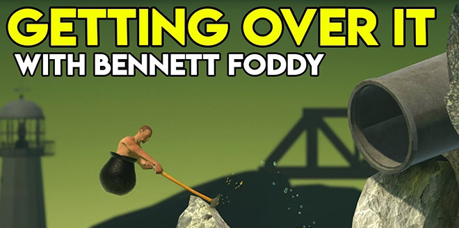 Getting Over It with Bennett Foddy v1.5 – полная версия