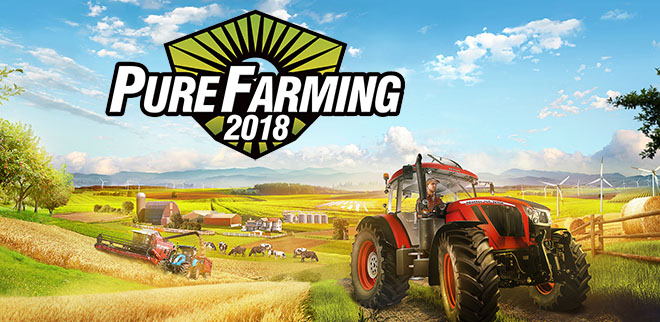 Pure Farming 2018 v1.3.2.6 + 16 DLC на русском – торрент