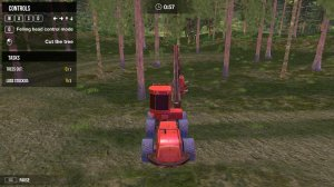 Forest Harvester Tractor 3D на компьютер