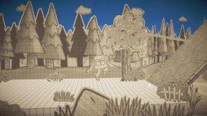 It's Paper Guy! - игра на стадии разработки