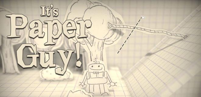 It's Paper Guy! v1.4 - игра на стадии разработки