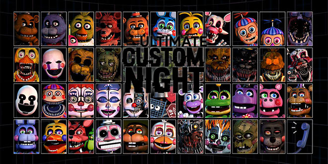Ultimate Custom Night v1.031 - полная версия