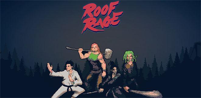 Roof Rage v0.8.3 - игра на стадии разработки