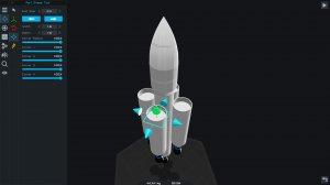 SimpleRockets 2 v0.9.403.0 - игра на стадии разработки