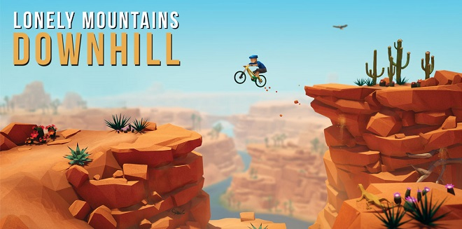 Lonely Mountains: Downhill v1.0.1 - торрент