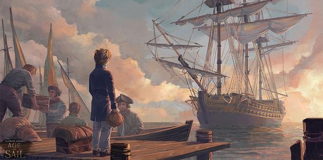 Ultimate Admiral: Age of Sail v0.7.0 - торрент