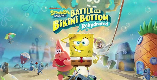 SpongeBob SquarePants: Battle for Bikini Bottom - Rehydrated v1.0.3 + Multiplayer